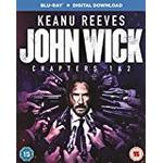 John Wick: Chapters 1 & 2 [Blu-ray + Digital Download] [2017]